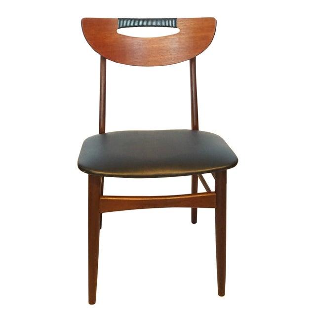 Mid-Century Modern Teak Dining Chairs - Set of 6 - Image 2 of 6