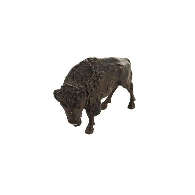"Austrian Bronze 5"" Buffalo - Image 3 of 9"