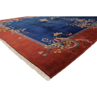 1920s Antique Chinese Art Deco Rug -8′9″ × 11′2″ Preview
