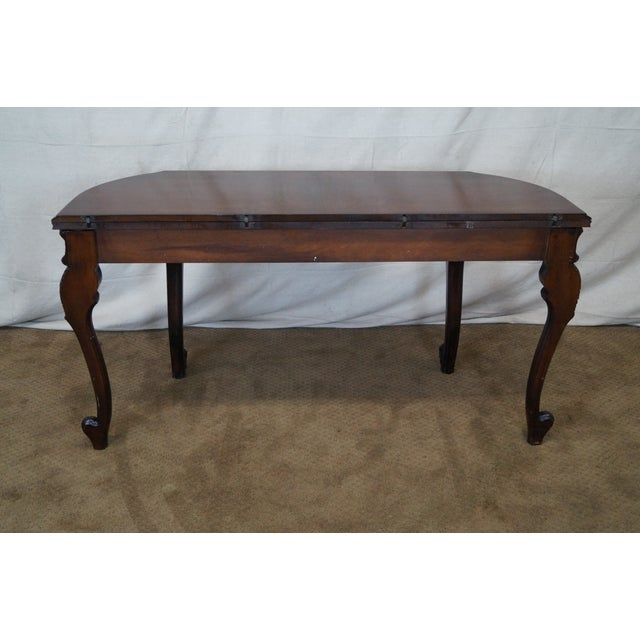 Antique Walnut Console Game Table - Image 4 of 10