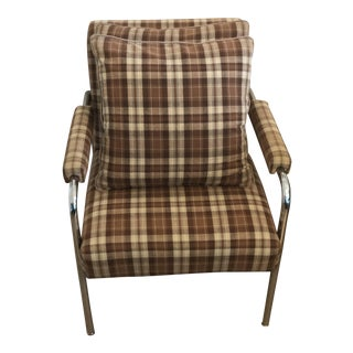 Mid-Century Modern Style Ralph Lauren Club Chair For Sale