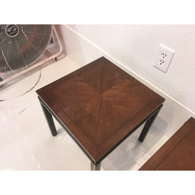 1960s Michael Taylor/ Baker Funiture Side Tables - a Pair For Sale - Image 5 of 10
