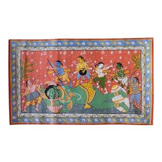 Vintage Orissa Indian Textile Art For Sale