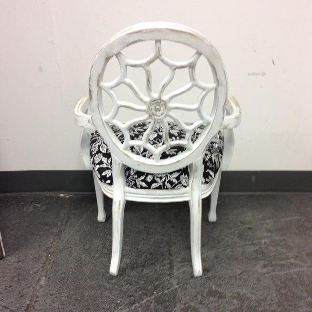 John Widdicomb Medallion Arm Chair - Image 5 of 10