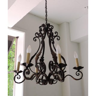 French Acanthus Leaf Chandelier Preview