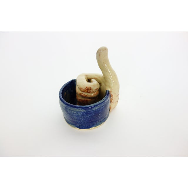 John Cote Ceramic Thumbs Up Cup For Sale In Seattle - Image 6 of 6
