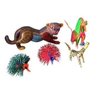 1970s Mexican Alebrijes- Set of 5 For Sale
