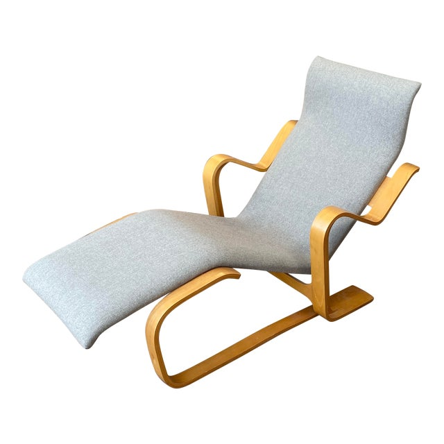 1980s Marcel Breuer Chaise Lounge For Sale
