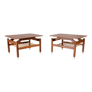 Greta Grossman Side Tables - A Pair