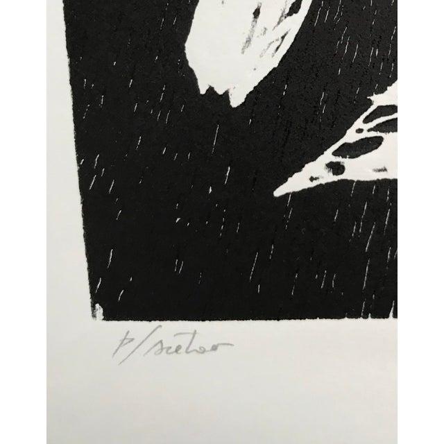 Contemporary Pablo Pino Hombre Povera Linocut Print For Sale - Image 3 of 8
