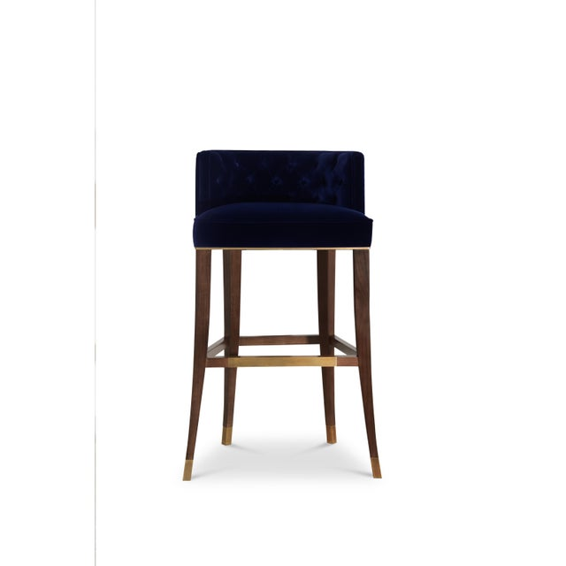 Bourbon Bar Chair From Covet Paris For Sale - Image 9 of 9