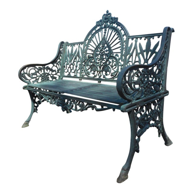 Strange Cast Iron Bench With Arched Back Machost Co Dining Chair Design Ideas Machostcouk