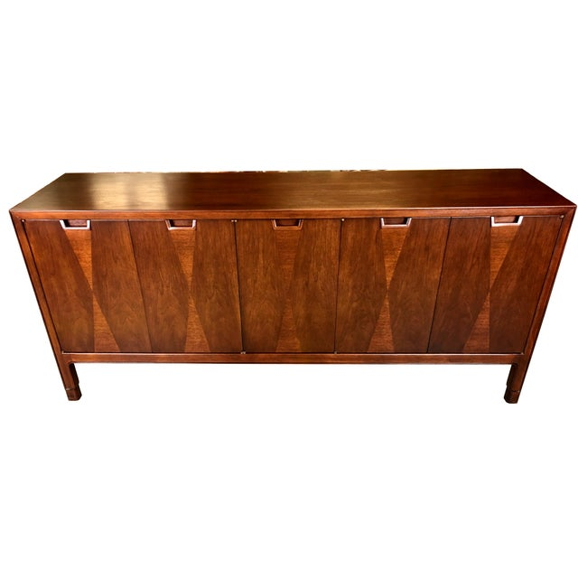 Fine Diamond Front Credenza by John Stuart-NY - Image 2 of 7