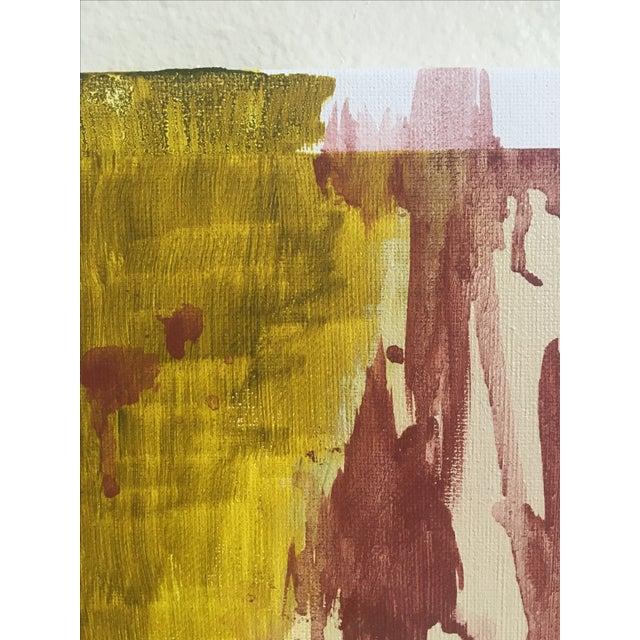 "Modern Abstract Bohemia, Original Art - Pair ""Hiraeth"" - Image 5 of 8"