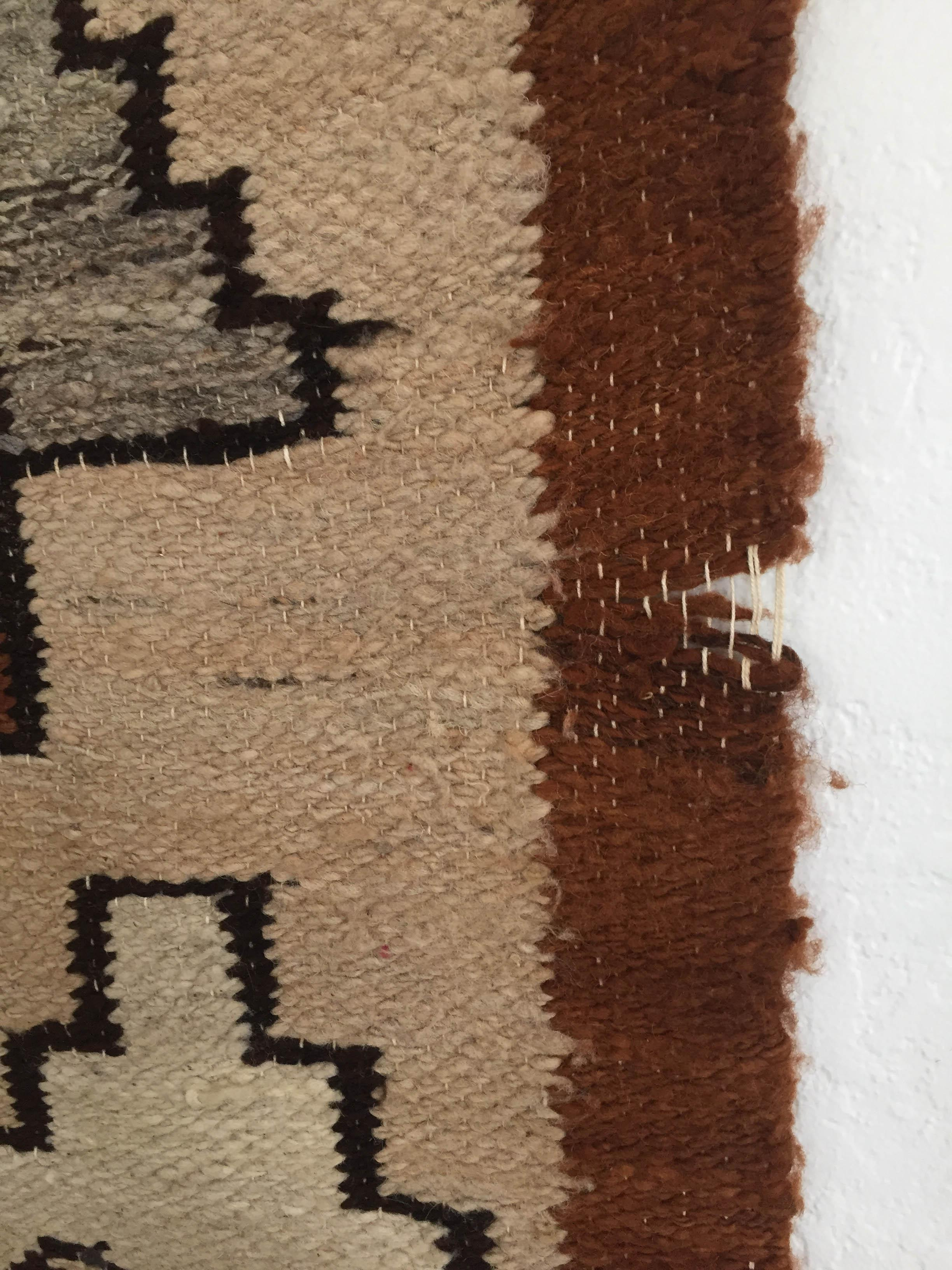 Vintage Native American Wool Wall Hanging Chairish