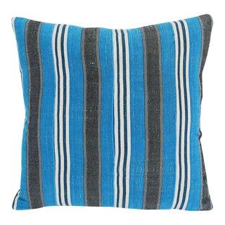 Vintage Striped Yoruba Nigerian Pillow For Sale