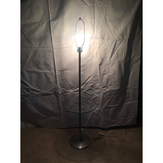 1960s Iconic Tulip Base Walnut Floor Lamp For Sale - Image 11 of 12
