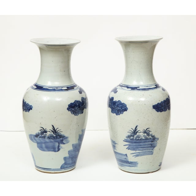 Chinese Chinese Export Vases - A Pair For Sale - Image 3 of 13