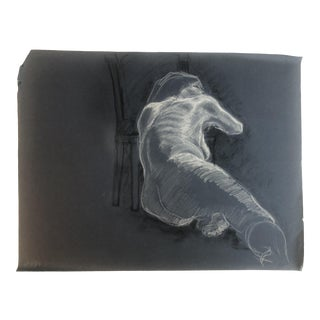 Reclining Female Nude, 1984 For Sale