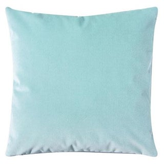 Icy Blue Glacier Velvet Pillow Cover Preview