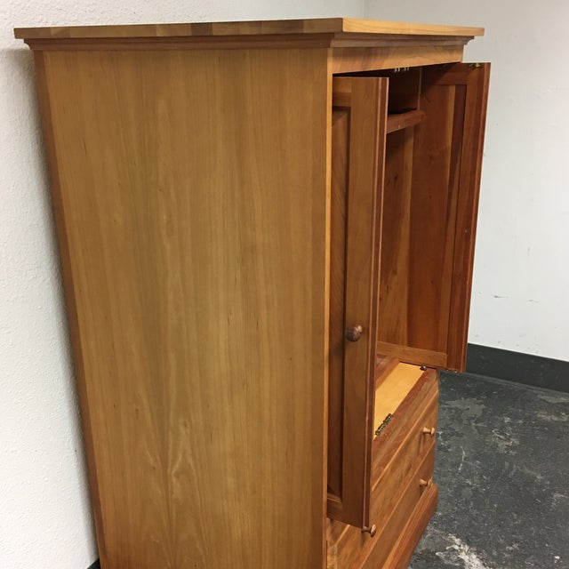 Contemporary Wooden Media Armoire - Image 8 of 8