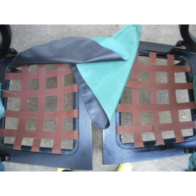 Black James Mont Style Asian Lounge Chairs - A Pair For Sale - Image 8 of 11