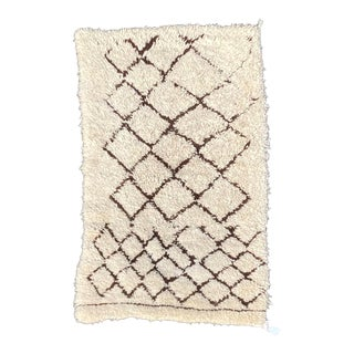 Beni Ourain Wool Berber Rug For Sale
