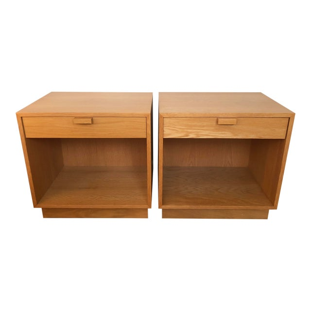 1970s Scandinavian Modern Charles Webb Nightstands - a Pair For Sale