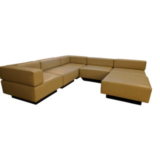 Harvey Probber Original Cubo Sectional Sofa - 6 Pc.