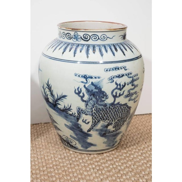 Asian A Large Chinese Export Vase For Sale - Image 3 of 10