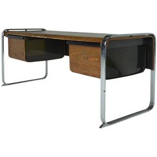 Peter Protzman for Herman Miller Exotic Zebrawood Desk