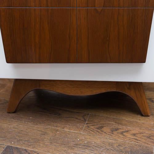 Mid-Century Modern Lacquered Nightstands - a Pair - Image 7 of 8