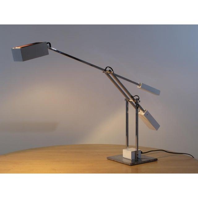 Robert Sonneman Robert Sonneman Articulated Table Lamp For Sale - Image 4 of 9