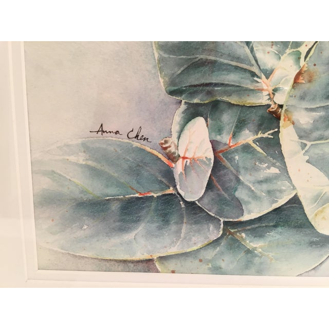 Original Framed Watercolor Painting by Anna Chen For Sale - Image 4 of 9
