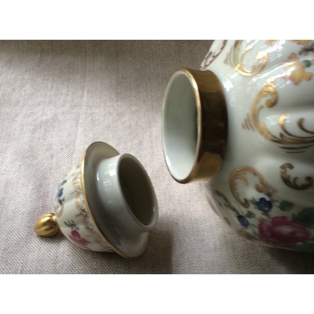 Antique Austrian Porcelain Temple Jar For Sale - Image 10 of 13