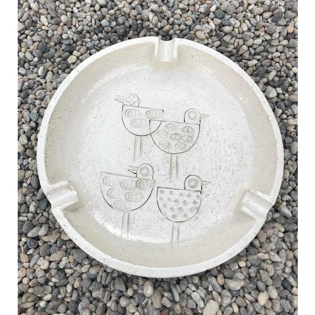 Vintage Mid-Century Modern Italian Ceramic Ashtray by Aldo Londi-Bitossi For Sale - Image 13 of 13