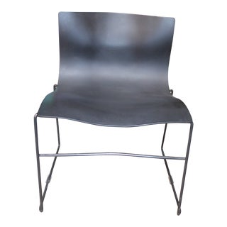 Vintage Mid Century Modern Knoll Handkerchief Side Chair For Sale