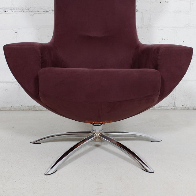 Hjellegjerde Baloo Chair & Ottoman by Olav Eldoy For Sale In Washington DC - Image 6 of 9