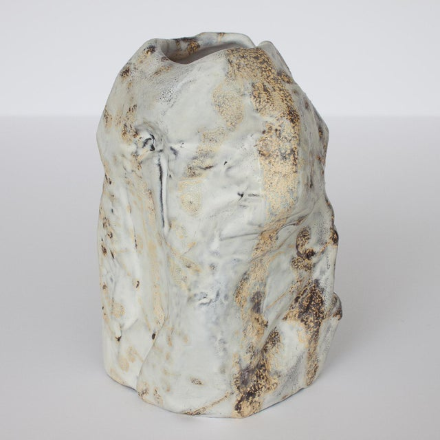 Marcello Fantoni Brutalist Ceramic Vase - Image 10 of 10