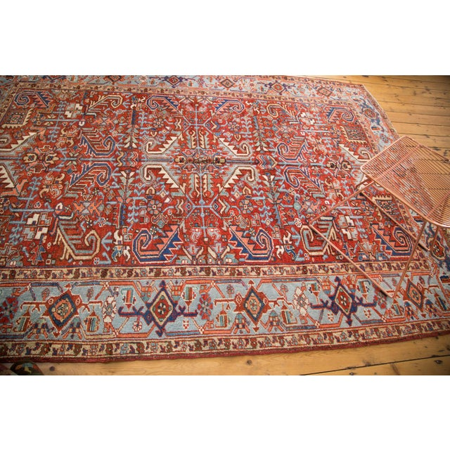 "Vintage Heriz Carpet - 6'11"" X 9'7"" - Image 7 of 8"