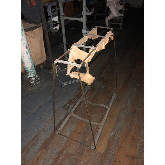 Metal Industrial Style Metal Console Table For Sale - Image 7 of 8