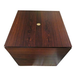 Rosewood Puzzle Cube Nesting Tables - Set of 6 For Sale