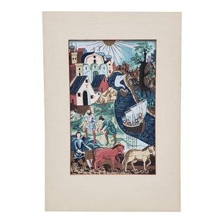Original Illustration by Sally Eppenstein C.1941 For Sale