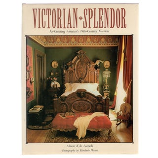 """""""Victorian Splendor"""" First Edition Book 1986 For Sale"""