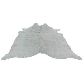 "Contemporary Gray Cowhide Rug - 5'9"" x 7'5"""
