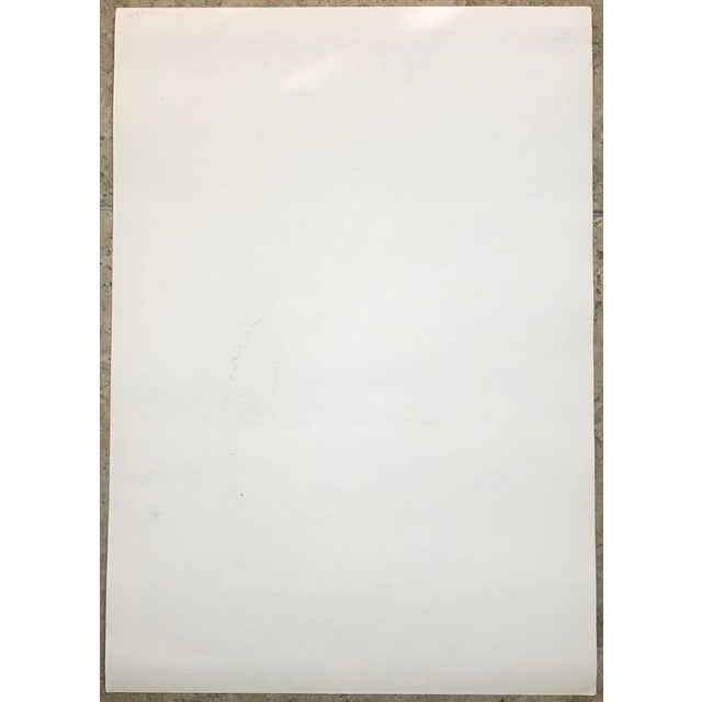 1980s Otto Piene - 1970s Abstract Serigraph For Sale - Image 5 of 6