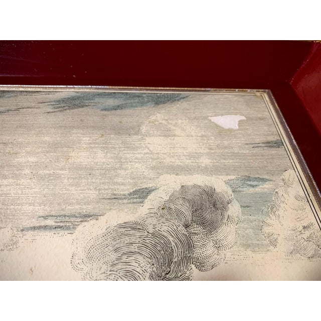 White Shabby Chic Serving Tray For Sale - Image 8 of 11