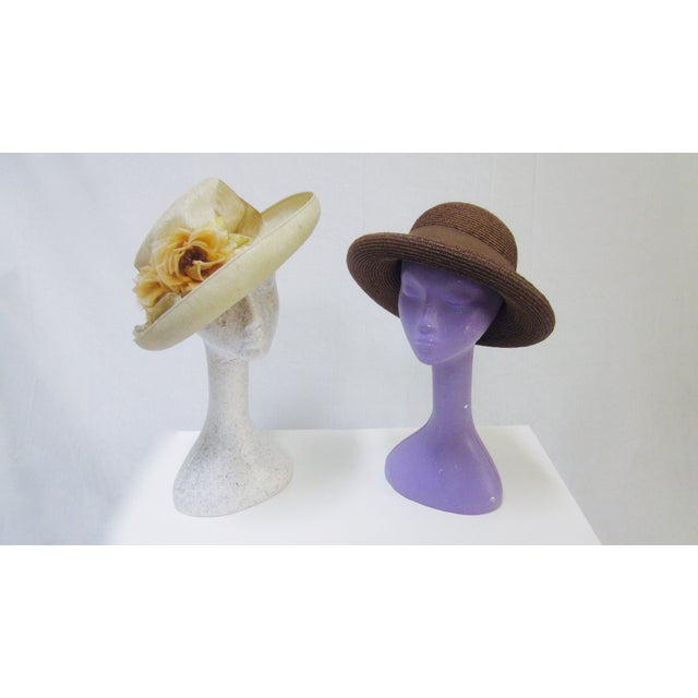 Long Neck Mannequin Heads- Set of 4 - Image 6 of 8