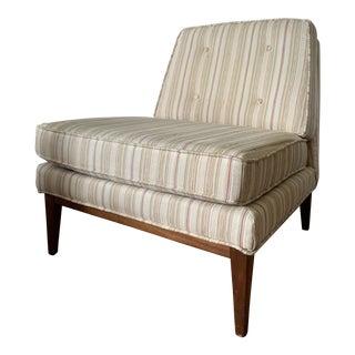 Mid Century Selig Slipper Chair For Sale