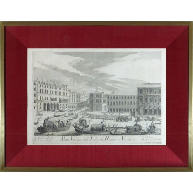 Rare Venice Engravings C. 1720 - Set of 15 - Image 4 of 10